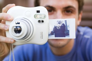 Instagram meets polaroid?