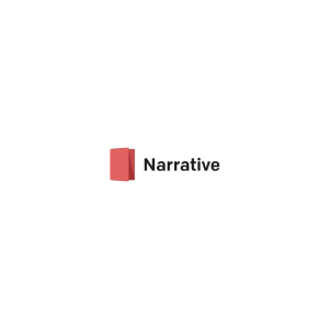 Narrative logotype