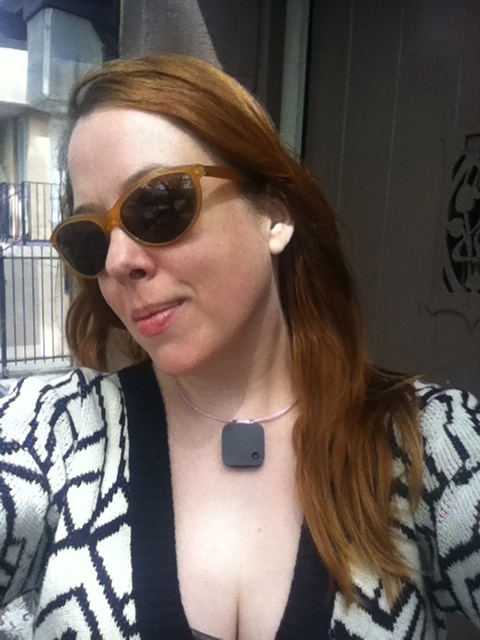 Paula and her Narrative Clip