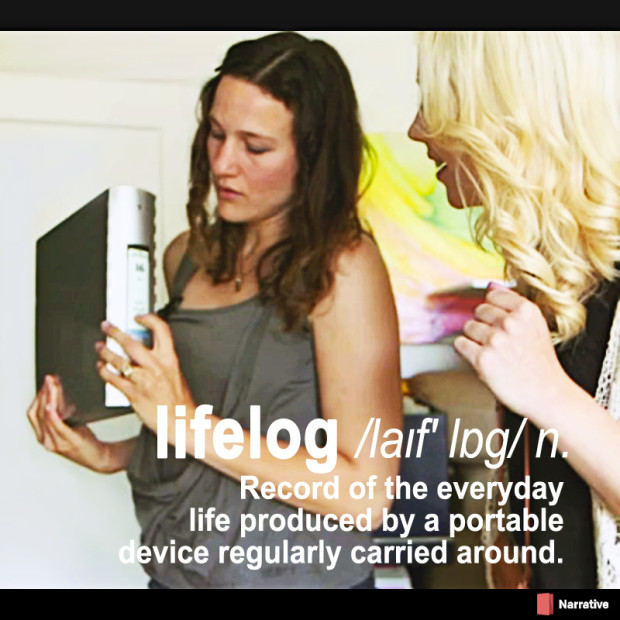 definition of lifelogging