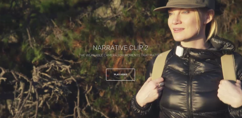Narrative Clip Website