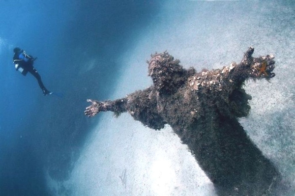 Christ of the Abyss at San Fruttuoso