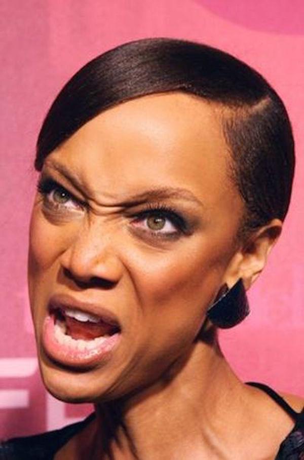 Tyra Banks Unflattering