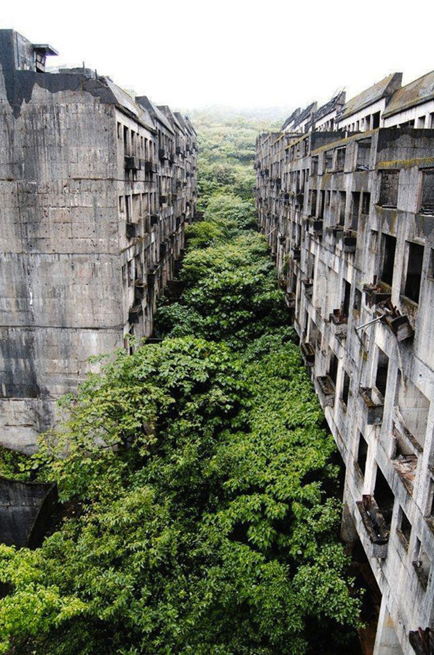 Abandoned city of Keelung, Taiwan