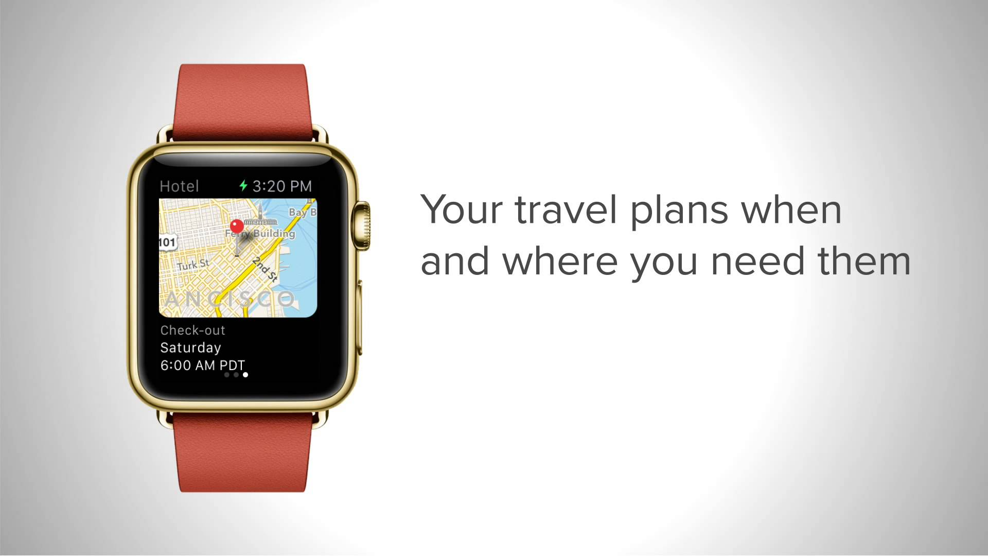 Tripit Apple Watch