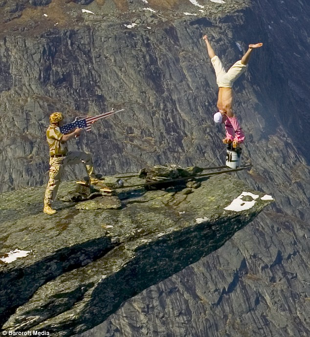 Daredevil Eskil Ronningsbakken in Norway