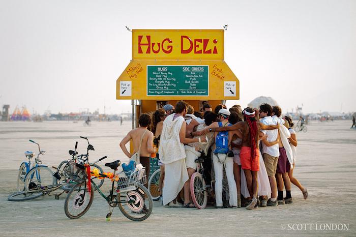 Scott London Burning Man 1