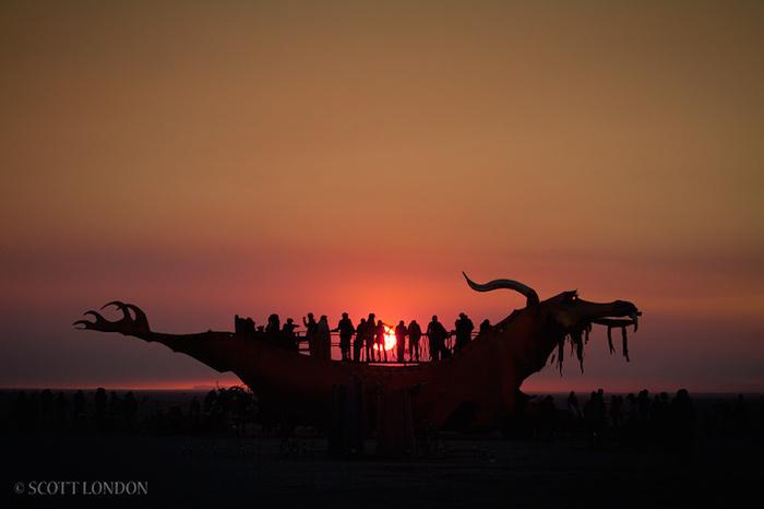 Scott London Burning Man 2