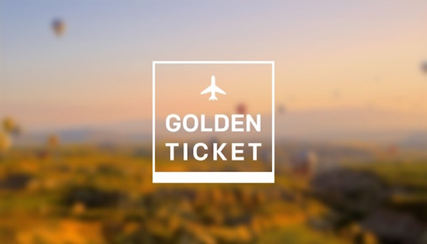 Narrative Golden ticket airplane