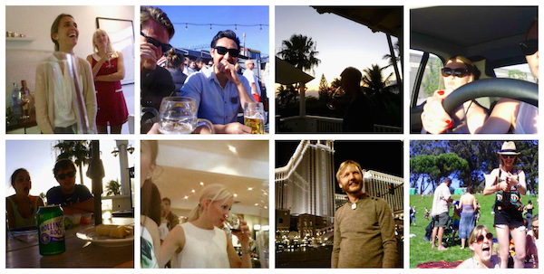 Collage of Narrative Clip Photos