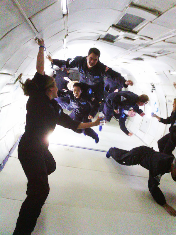 zero gravity with narrative clip