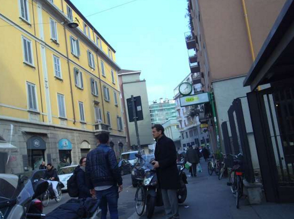 milan by foot