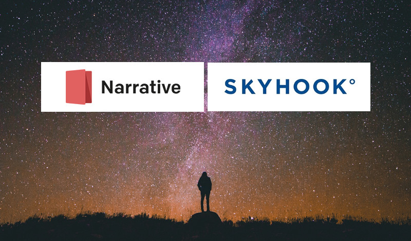 skyhook narrative partner